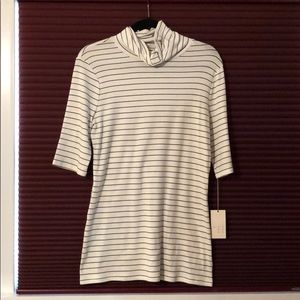 A New Day Tops Target 34 Sleeve Striped Turtle Neck Poshmark